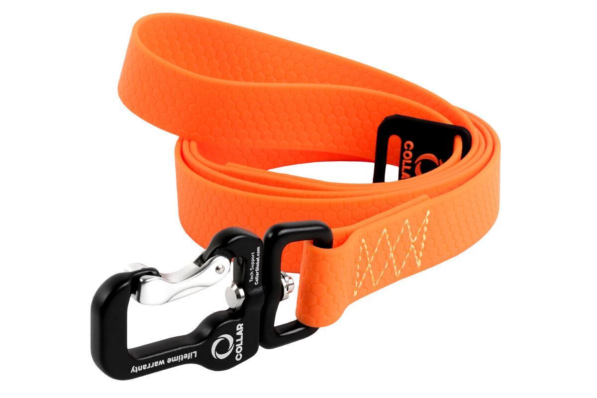 Поводок для собак Collar Evolutor оранжевый (ширина 25мм, длина 210см)