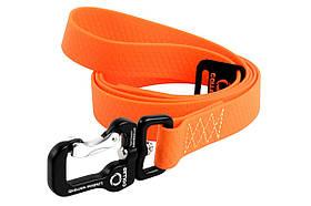 Повідець для собак Collar Evolutor помаранчевий (ширина 25 мм, довжина 210 см)