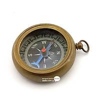 "Компас бронзовый карманный ""Royal Navy"" d-4 h-1,5см (29255)"
