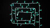 Гирлянда внешняя DELUX STRING 100 LED 10m (2x5m) зеленый/белый IP44 EN
