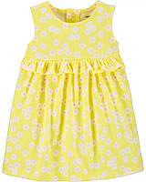 Очаровательное яркое платье с рюшами Цветочки Картерс для девочки, фото 1