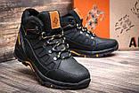 Мужские зимние кожаные ботинки, фото 4