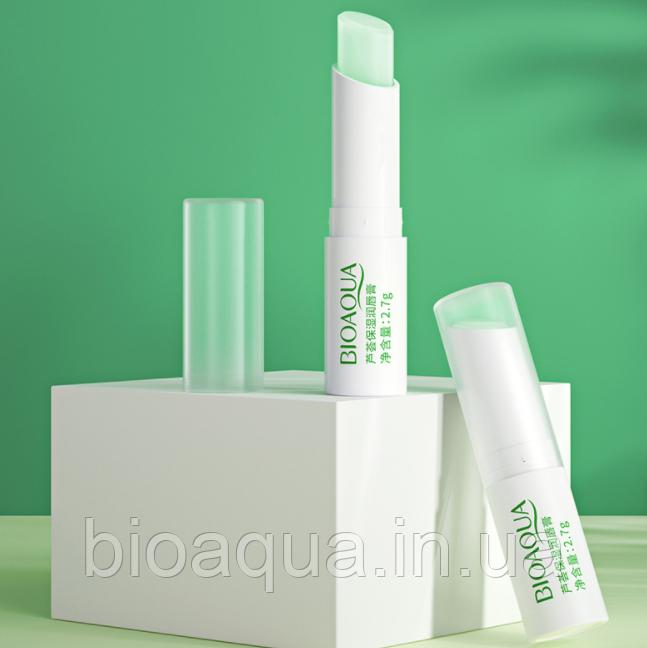Бальзам для губ Bioaqua Refreshing Mint Lip Balm с экстрактом мяты 2.7g