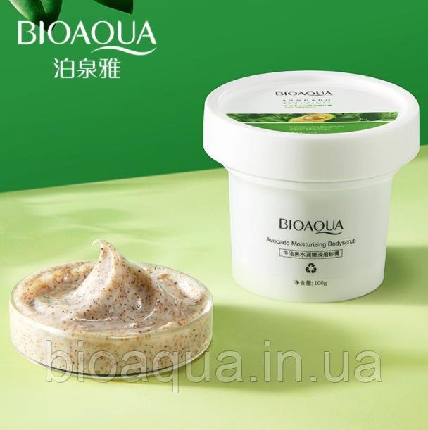 Скраб пилинг для тела Bioaqua Body Scrab с авокадо 100 g