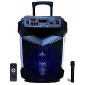 Активная акустическая система с беспроводным микрофоном AVCROWNS Pro, Мощность 120 Ватт