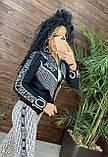 Женский вязаный костюм Диор, в белом цвете, р.42/46, фото 7