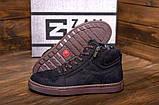 Мужские зимние кожаные кроссовки, фото 2