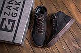 Чоловічі зимові шкіряні кросівки, фото 3