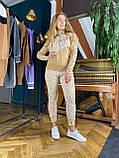 Женский вязаный костюм Диор, в черном цвете, р.42/46, фото 9