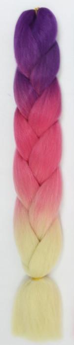 КАНЕКАЛОН 60 см. 100 гр. Омбре3   Jumbo braid