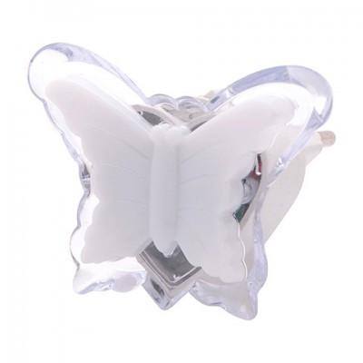 """Нічник LED """"DUFFY"""" метелик білий"""