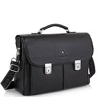 Портфель мужской кожаный классический с замком Royal Bag RB40041, фото 1