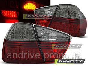 Задние фонари для BMW 3 (E90) 2005-2008 тёмные тюнингованные ЦЕНА ЗА ПАРУ