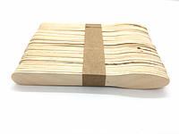 Шпателя деревянные лопатка - ложечка для восковой депиляции 50шт