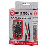 Мультиметр цифровой CAT II-300В/CAT I-600В INTERTOOL MD-0001