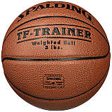 Мяч баскетбольный Spalding NBA Trainer Heavy Ball размер 7, фото 2