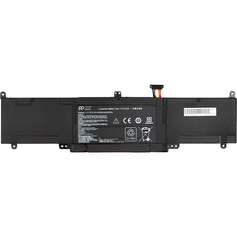 Аккумулятор PowerPlant для ноутбуков ASUS ZenBook UX303L (C31N1339) 11.31V 4400mAh