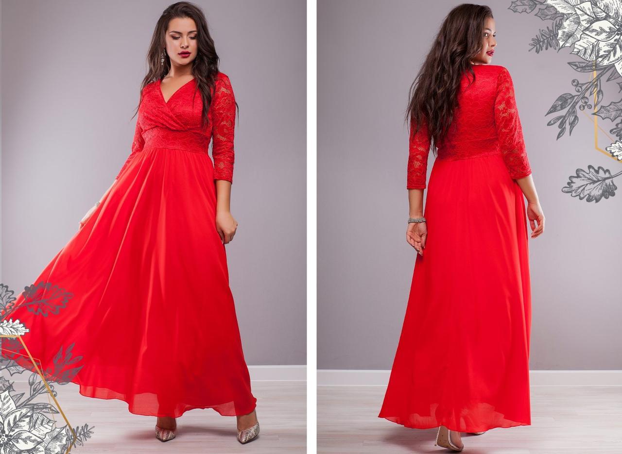 Женское нарядное платье Виолетта темно-синее 8340
