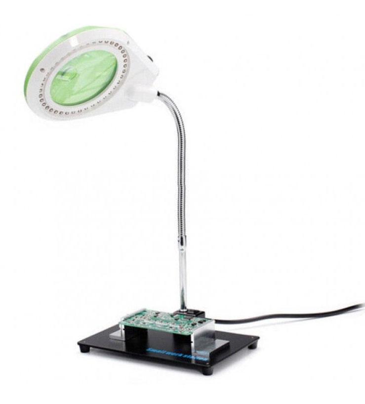 YIHUA-628A лампа-лупа с держателем плат