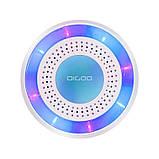 Беспроводная сирена автономная для беспроводных датчиков 433 мГц Digoo DG-ROSA, с аккумулятором, фото 2