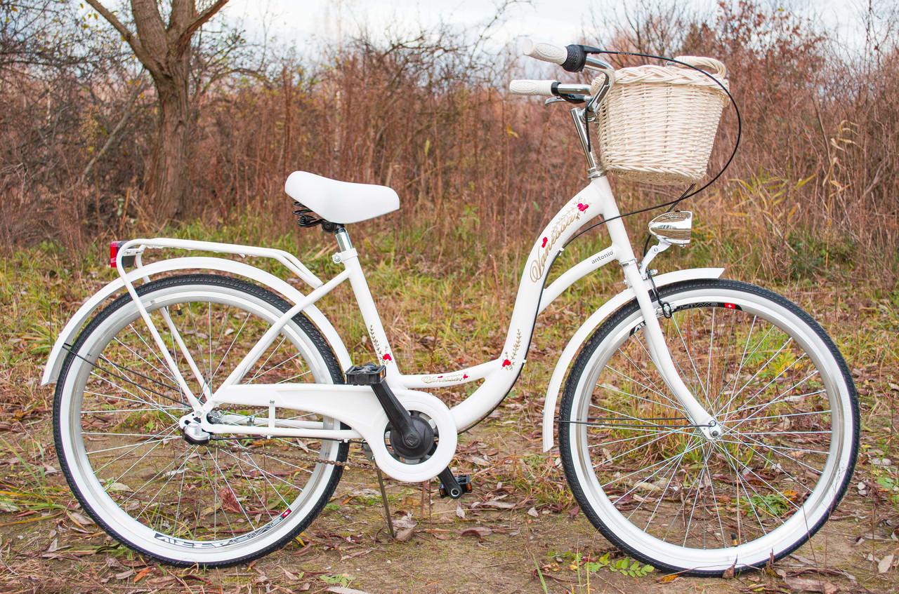 Велосипед VANESSA 26 Nexus 3 White