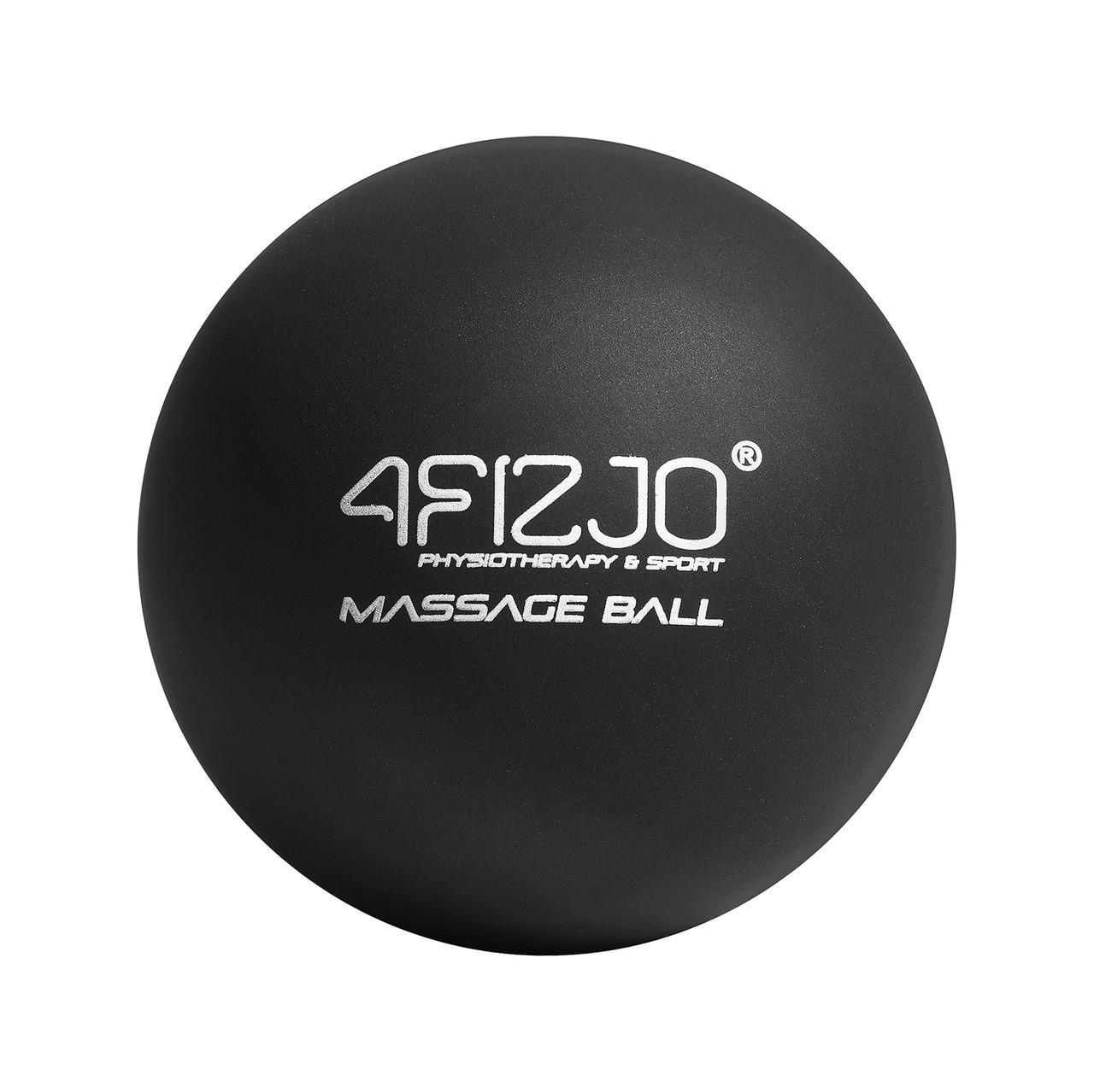 Массажный мяч 4FIZJO Lacrosse Ball 6.25 см 4FJ1196 Black
