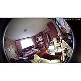 Видеоглазок wifi c датчиком движения, подсветкой и записью HQCam 405B, 2 Мп, серебристый, фото 7
