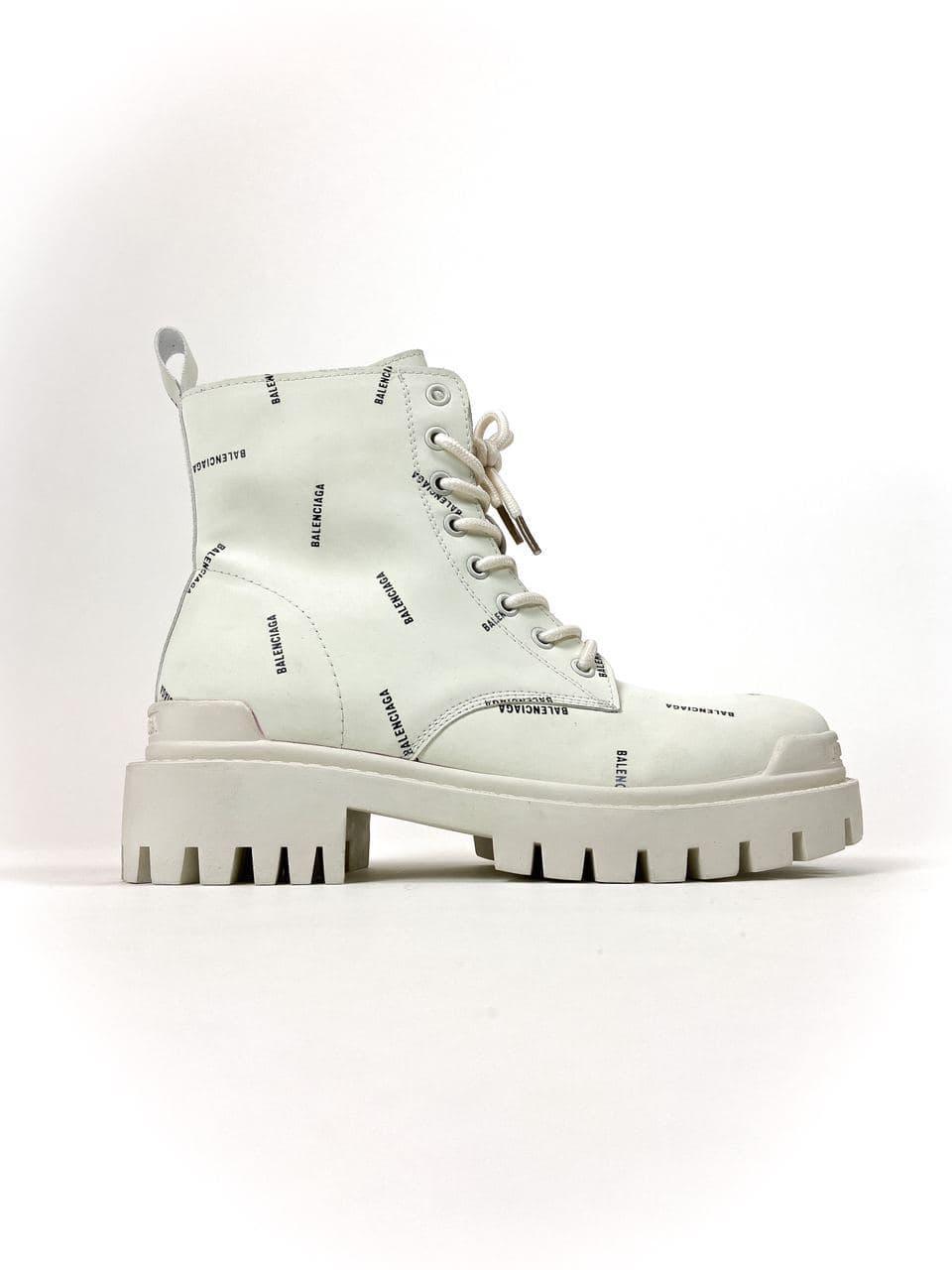 Balenciaga Boots White (Белый)