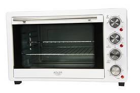 Электрическая печь духовка Adler AD 6001 35л 1500W White (111489)