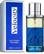 Мужская парфюмерная вода Velosity 100ml. Fragrance World.