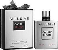 Мужская парфюмерная вода Allusive Canale Sport 100ml. Fragrance World.