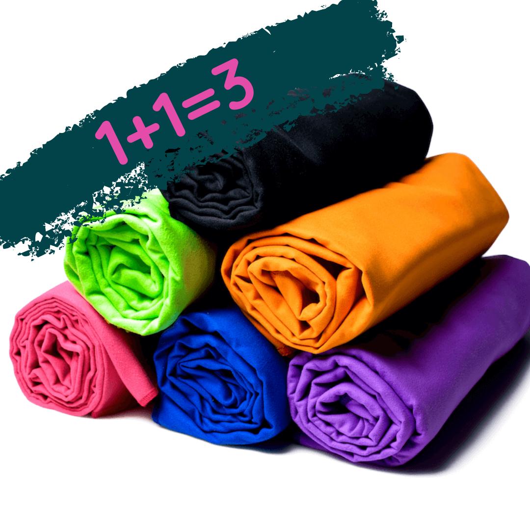 Подарочный набор полотенец 3шт размером 50х80см