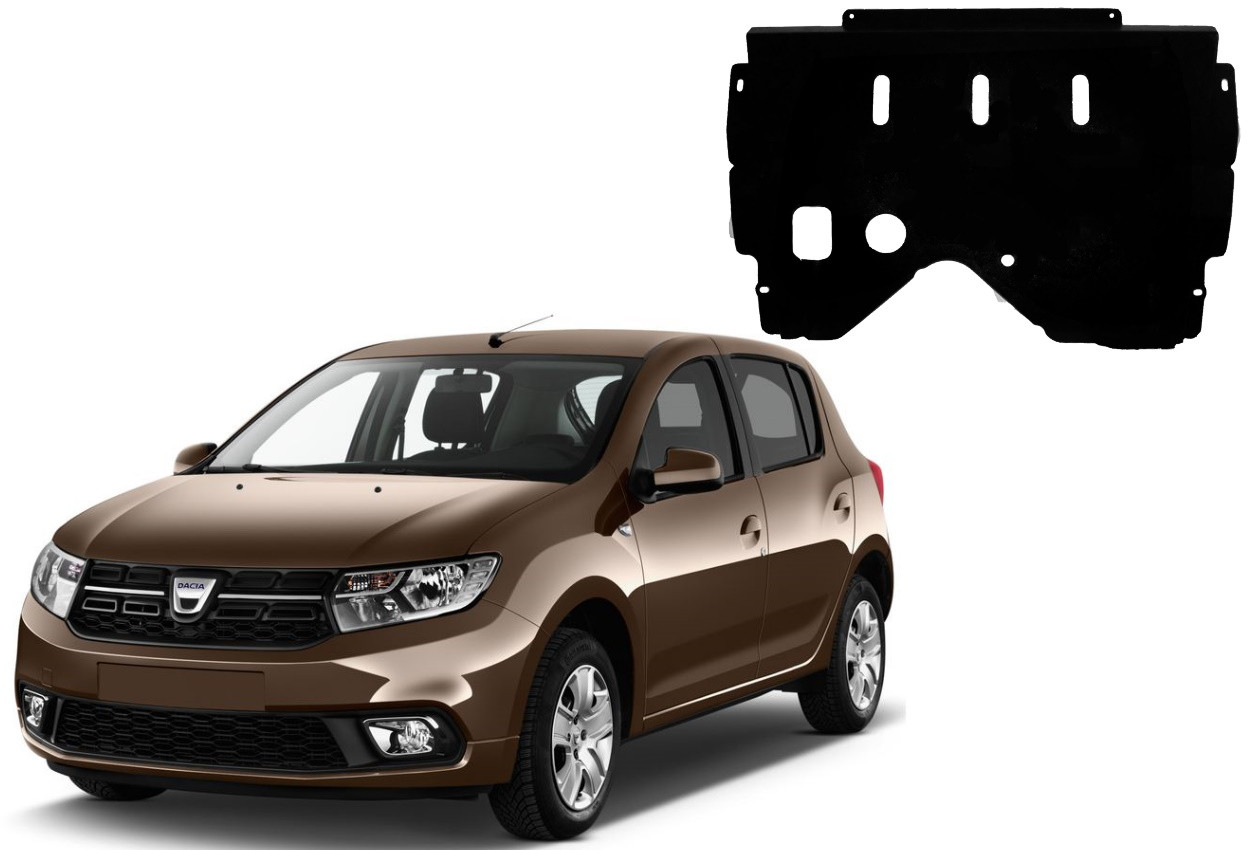 Защита двигателя Dacia Sandero II 2012-2020