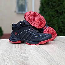 """Зимние кроссовки на меху Adidas ClimaWARM 350 """"Черные/Красные"""", фото 3"""