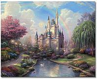 Картины по номерам 40х50 см DIY Замок (NX 9259), фото 1