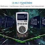Цифровой мультиметр / осциллограф ET826  с автоматической подсветкой, фото 8