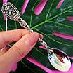 Срібна ложка Георгій Побідоносець - Чайна срібна ложка - Подарункова ложка з срібла, фото 5