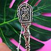 Срібна ложка Георгій Побідоносець - Чайна срібна ложка - Подарункова ложка з срібла, фото 3
