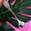 Срібна ложка Георгій Побідоносець - Чайна срібна ложка - Подарункова ложка з срібла, фото 2
