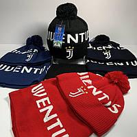 Набор (шапка+баф)  Juventus