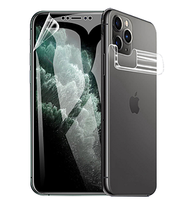 Гидрогелевая защитная пленка на телефон iPhone 7 Plus