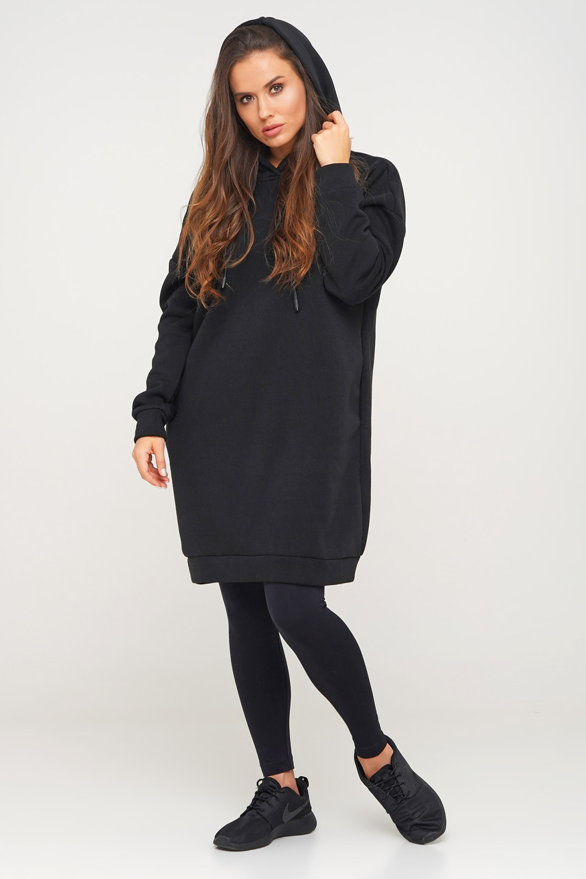 Женское платье-худи, женская одежда