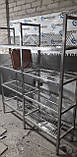 Сушка стеллаж 4  ур. (4 тарелки + 1 поддон)1000х320х1700, фото 5