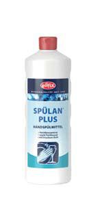 Концентрированное средство для мытья посуды Eilfix Spulan Plus 1л