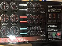 Тахометрт стрелочный Dеfi 7518 WH с отсечкой и сигнальной лампой, фото 6
