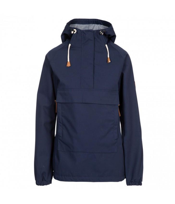 Демисезонная женская куртка ветровка Trespass FAJKRATR0023 Navy