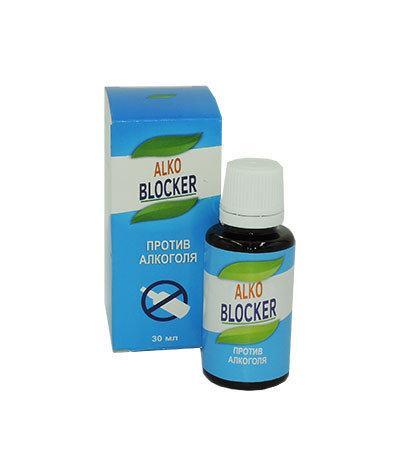 Alko Bloker - капли от алкоголизма (Алко Блокер)