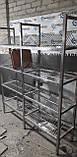 Сушка стеллаж 4  ур. (4 тарелки + 1 поддон)1200х320х1700, фото 5