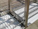 Сушка стеллаж 4  ур. (4 тарелки + 1 поддон)1200х320х1700, фото 8