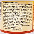 Кайшора Гуггул (Kaishora Guggulu DS, SDM) - аюрведа премиум качества, 100 таб. по 750 мг, фото 4